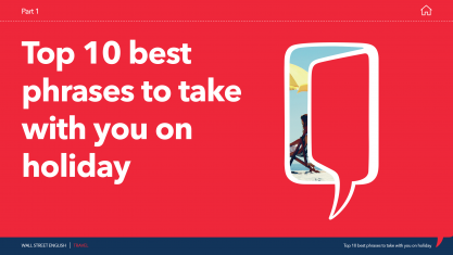 Top 10 Best Phrases to take with you on Holiday