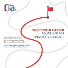 Seminar Successful career route map for University students
