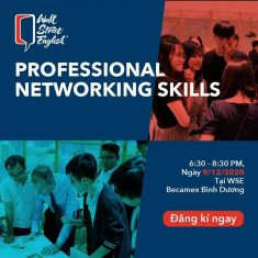 Professional Networking Skills at Becamex Binh Duong center